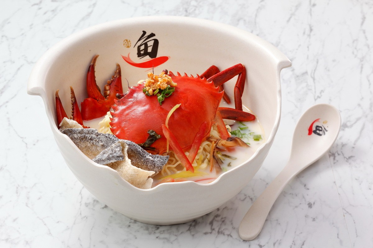 Image Product Kepiting Jantan & Ikan Filet Goreng
