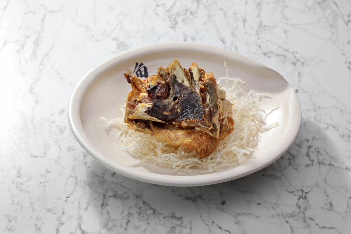 Image Product Kepala Ikan Kerapu Goreng