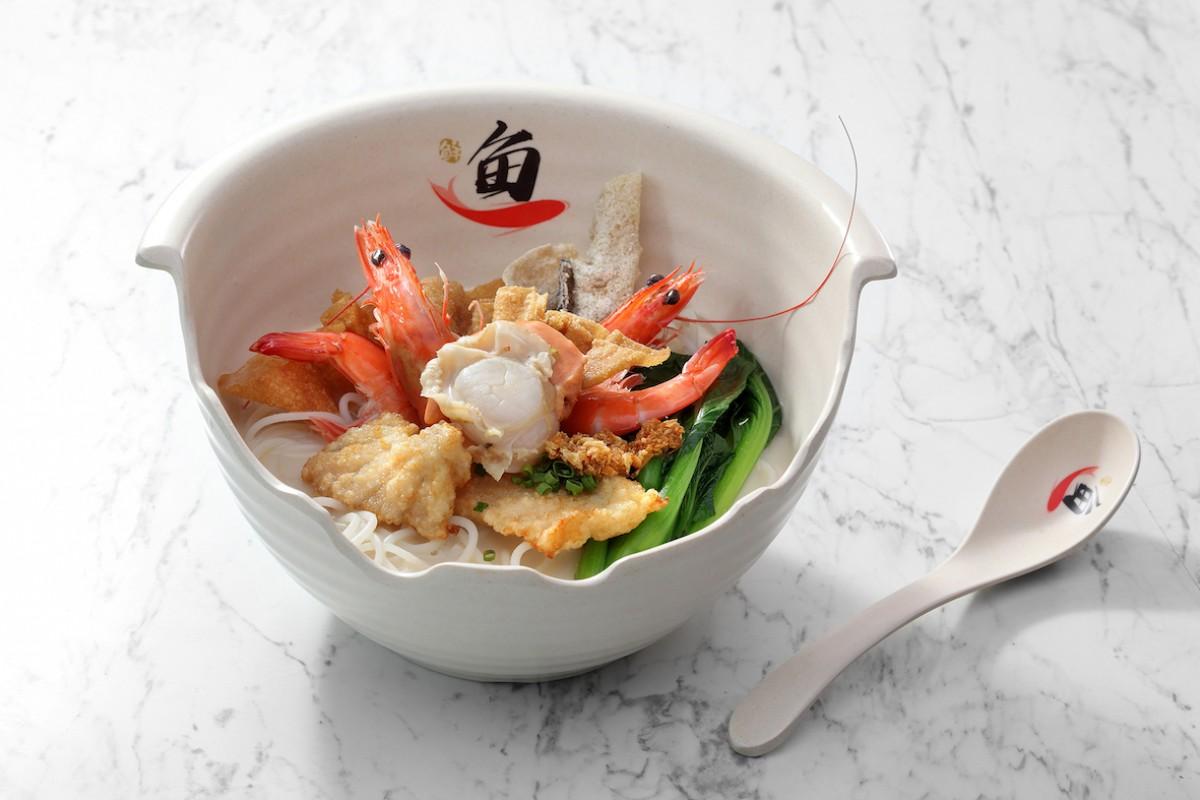 Image Product Scalop Jepang, Udang, Pangsit Goreng & Ikan Fillet Goreng